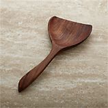Farmhouse Wood Wide Serving Spoon