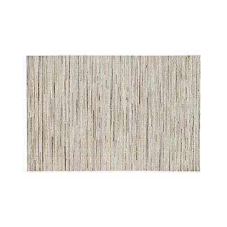 Faust Striped Cowhide 6'x9' Rug