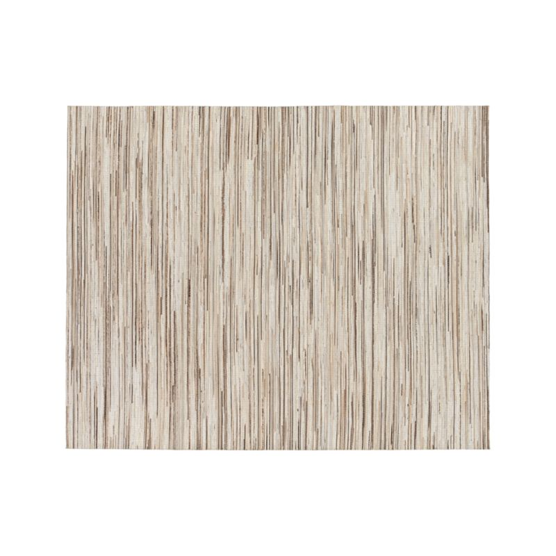 Faust Striped Cowhide 8'x10' Rug