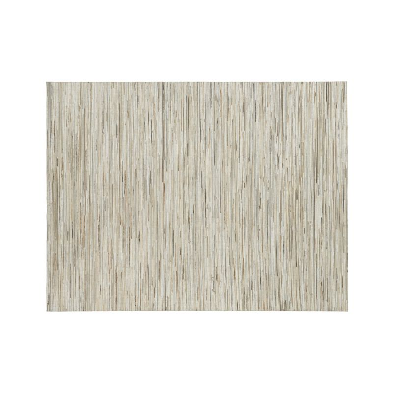 Faust Striped Cowhide 9'x12' Rug
