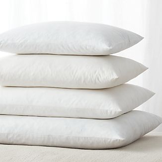 Feather-Down Rectangular Pillow Inserts