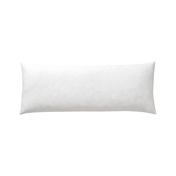 "Feather-Down 36""x14""  Pillow Insert"