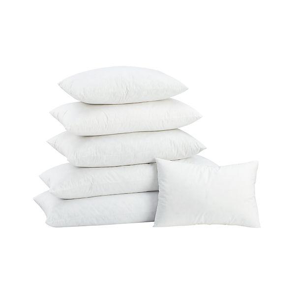 Feather-Down Rectangular Pillow Inserts