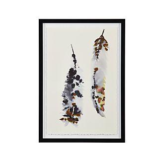 Feathers II Print