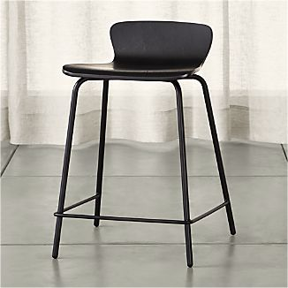 Felix Black Counter Stool