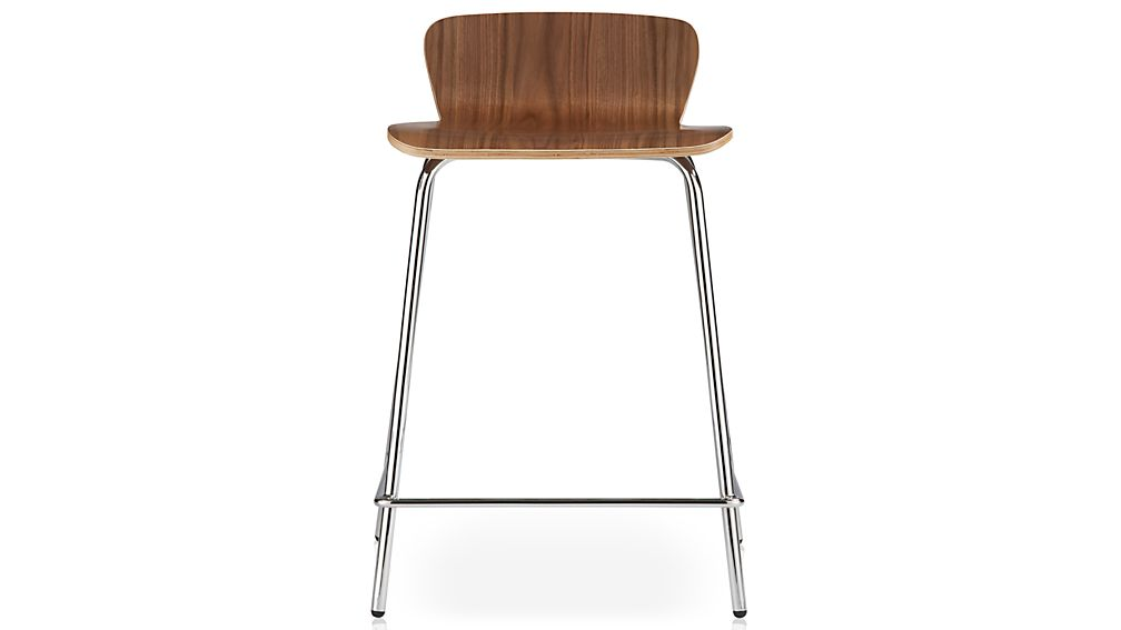 Felix Walnut Counter Stool