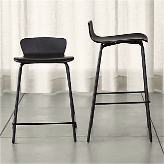 Felix Black Bar Stools