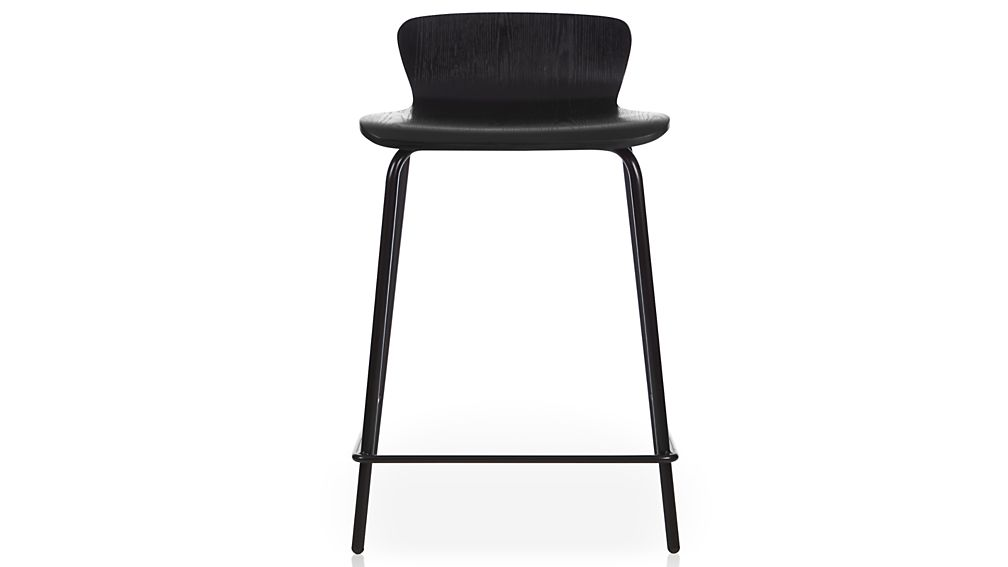 Felix Black Bar Stool : felix 24 black counter stool from www.crateandbarrel.com size 1008 x 567 jpeg 16kB