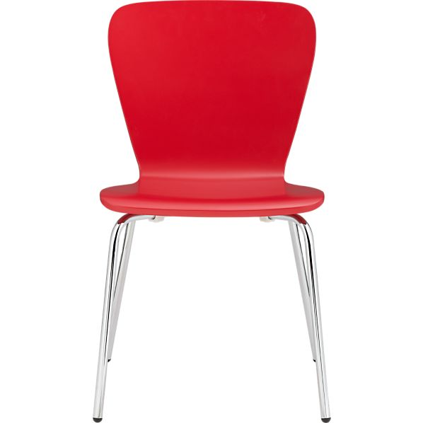 Felix Red Side Chair