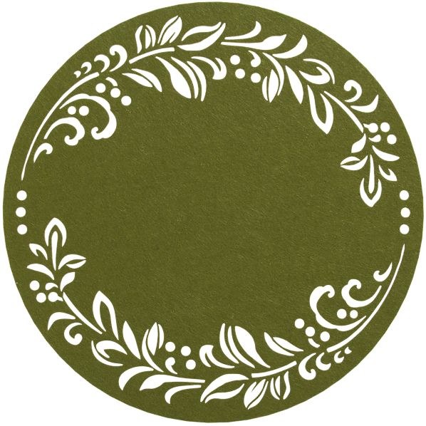Wreath Placemat