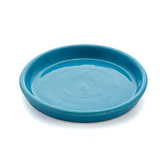 Festive Small Aqua Saucer