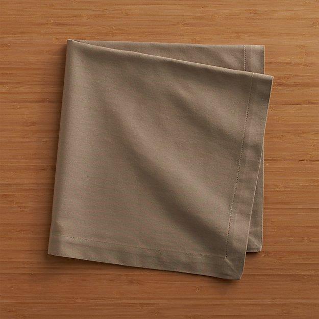 Fete Brindle Brown Cloth Napkin Crate And Barrel