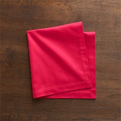 Set of 8 Fete Azalea Cotton Napkins