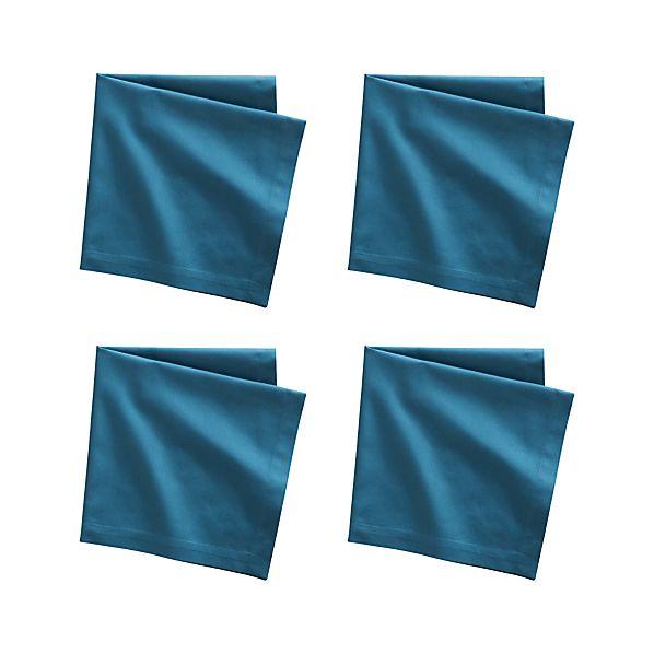Set of 4 Fete Corsair Cotton Napkins