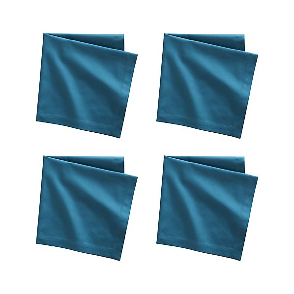 Set of 4 Fete Corsair Cotton Napkins