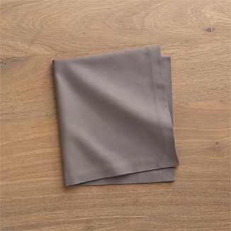 Fete Pewter Cotton Napkin