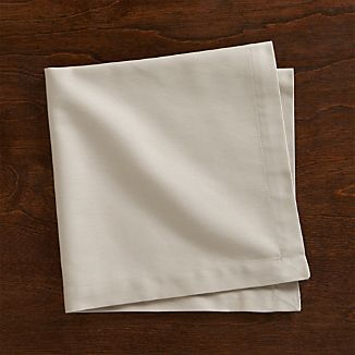 Set of 8 Fete Dove Cotton Napkin