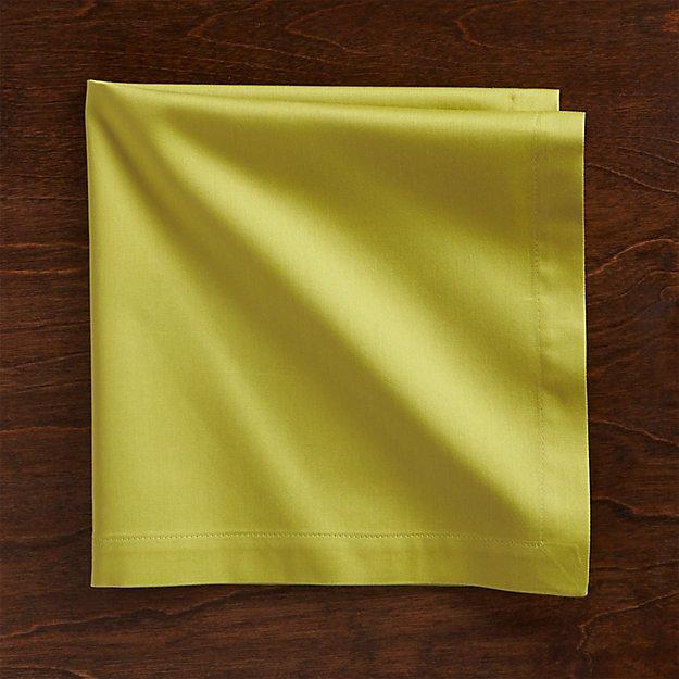 Fete Green Cloth Napkin