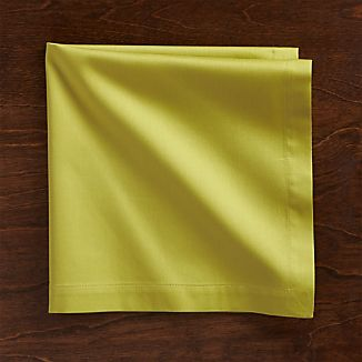 Fete Green Cotton Napkin