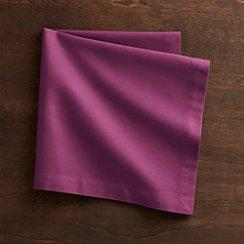 Fete Violet Cotton Napkin