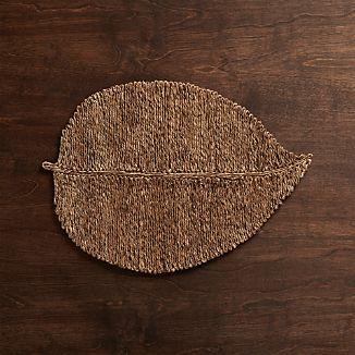 Fiber Leaf Placemat
