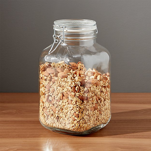 fido 3 liter jar with clamp lid crate and barrel. Black Bedroom Furniture Sets. Home Design Ideas