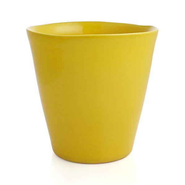 Festive Small Yellow Planter