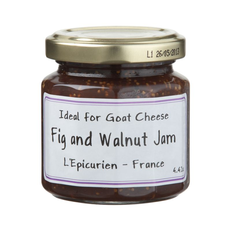 Only carefully selected fruits go into L'Epicurien's old-fashioned copper kettles to make this gourmet preserve from the South of France.<br /><br /><NEWTAG/><ul><li>Fig & walnut jam contains figs, fruit sugars, cane sugar, white wine from Pays d'Oc, Walnuts, fruit pectin and concentrated lemon juice</li><li>Gluten-free</li><li>Made in France</li></ul>