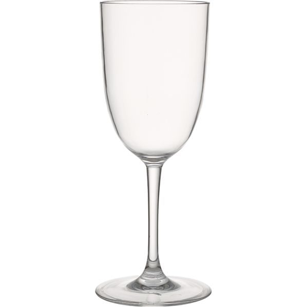 Fina Acrylic White Wine Glass