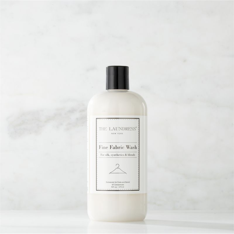Make trips to the dry cleaner a thing of the past. Formulated exclusively for Clean Slate™, this ultra-gentle, eco-friendly wash by The Laundress®  is subtly infused with the scent of lavender. Designed to effectively clean your finest silk and other delicate fabrics by hand or on the delicate cycle of your washing machine, this fabric-care detergent safely removes stains and body oils to extend the life of your wardrobe. The plant-based formula is 100% biodegradable, non-toxic and allergen-free with no artificial colors or dyes, making it a kind choice for both the environment and sensitive skin.<br /><br />The Laundress® was dreamt up by two graduates from Cornell University's Fiber Science, Textile and Apparel Management and Design program. Frustrated with the financial and environmental cost of dry cleaning, the pair researched and developed eco-conscious formulas designed to properly care for every item in your closet.<br /><br /><NEWTAG/><ul><li>Formulated exclusively for Clean Slate™ by The Laundress®</li><li>Cleans fine and delicate fabrics by hand or on the delicate cycle of your washing machine</li><li>Plant-based wash is 100% biodegradable, non-toxic and allergen-free with no artificial colors or dyes</li><li>Subtly scented with lavender</li><li>Plastic container is BPA-free</li><li>Made in USA</li></ul>