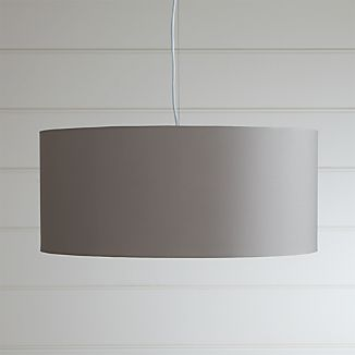 Finley Large Grey Pendant Light