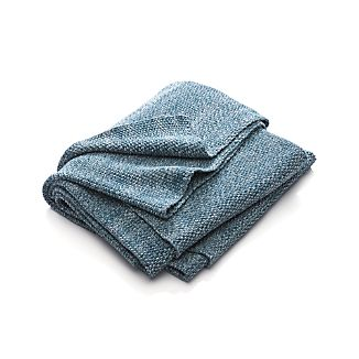 Finola Teal Blue Throw