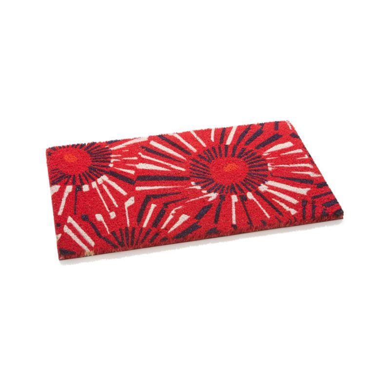 Fireworks Doormat