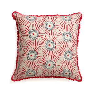 Fireworks Pillow with Down-Alternative Insert