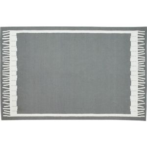 Fish Grey Indoor-Outdoor 6'x9' Rug