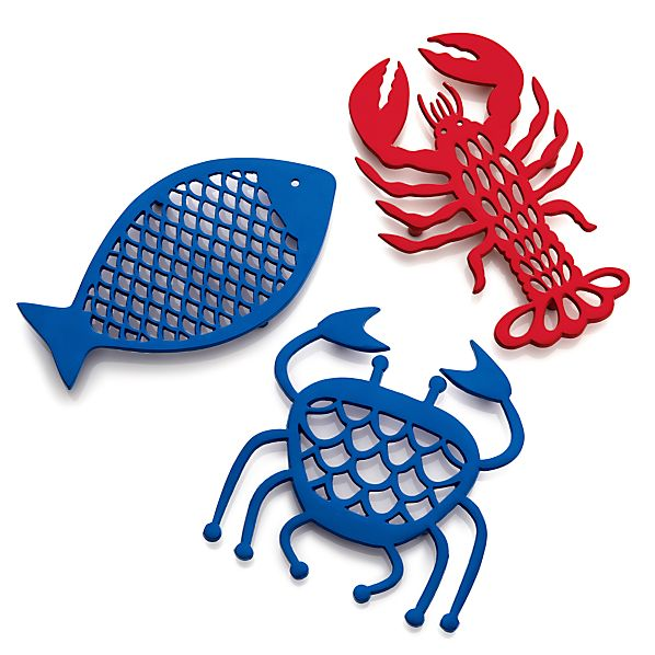 FishLobsterCrabTrivetsAC16