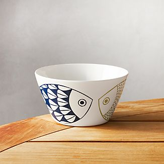 Fish Melamine Bowl