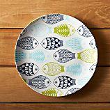 """Fish 10.5"""" Melamine Dinner Plate"""