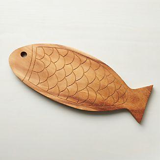 Fish Wood Board