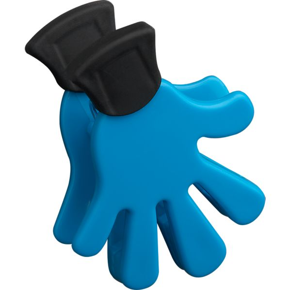 Five Finger Blue Magnet-Clip