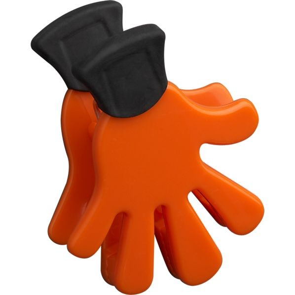 Five Finger Orange Magnet-Clip