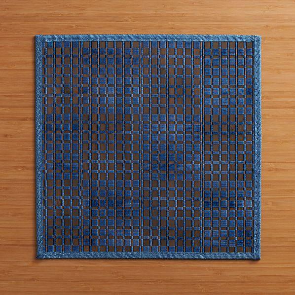 Flatts Blue Placemat