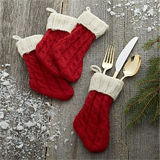 Set of 4 Flatware Stocking