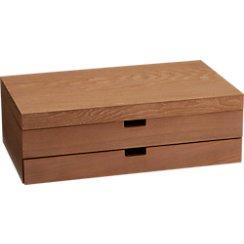 Flatware Storage Box with Drawer