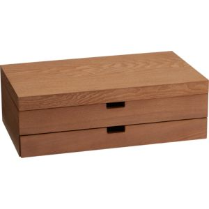 Flatware Storage Box with Drawer
