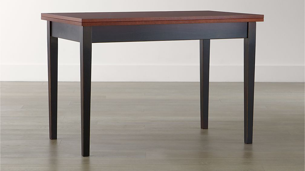 Flip Small Bruno Dining Table Crate And Barrel
