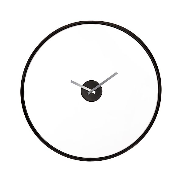 "Floating 24"" Wall Clock"