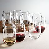 Set of 12 Flock Stemless Wine Glasses
