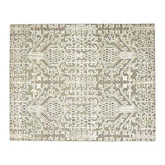 Florian Grey Wool-Blend 8'x10' Rug