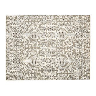 Florian Grey Wool-Blend 9'x12' Rug